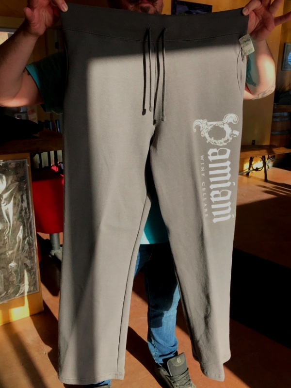 Women's Sweatpants, Grey, 3XL