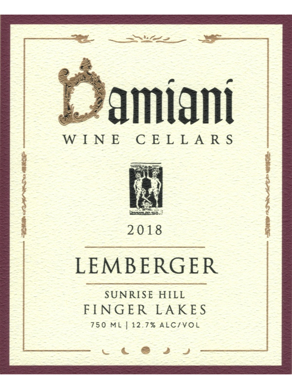 2018 Lemberger - Sunrise Hill Vineyard