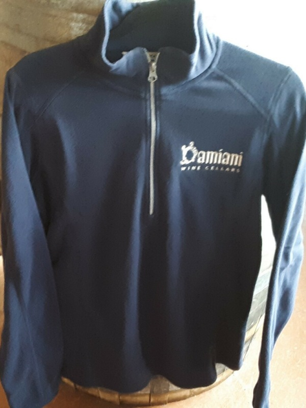Women's 1/2 Zip Fleece, Navy, 2XL